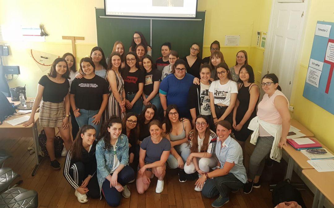Mein Besuch auf der Ecole Privee Marie Consolatrice