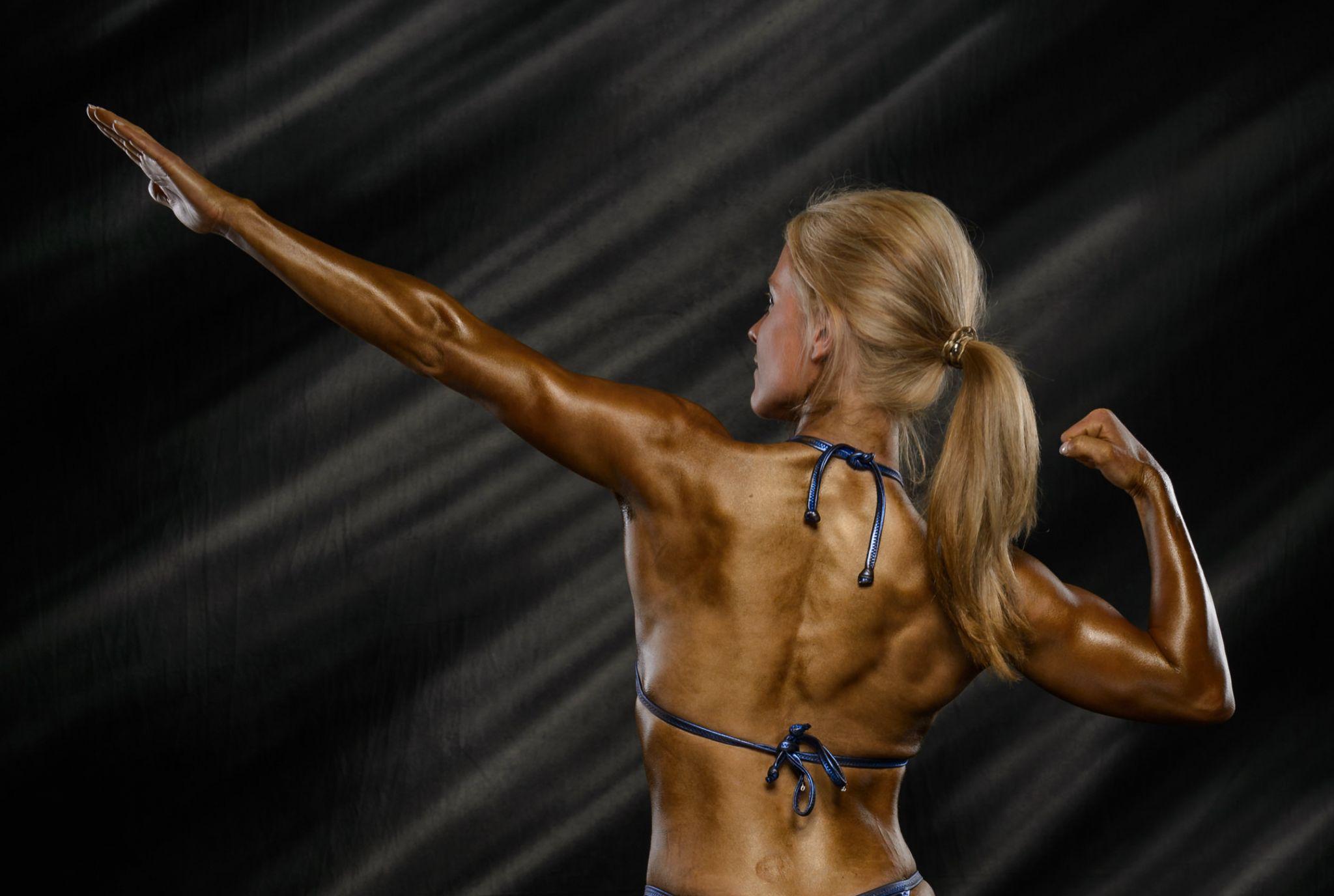 Simone Bohrmann - Natural Bodybuilder und Personal Trainer in Hamburg